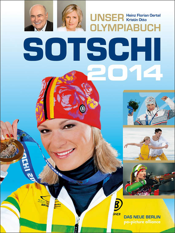 Olympiabuch Sotschi 2014 - Cover