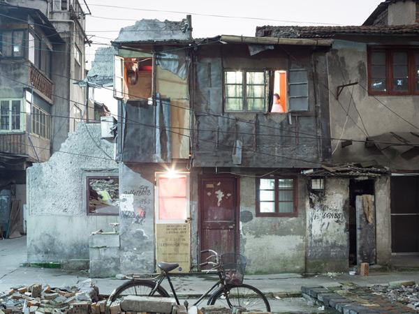 aus: Nail-Houses, Shanghai-2010