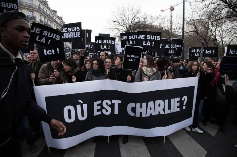 Paris marche republicaine 11 01 2015 France Ile de France Paris Des centaines de milliers